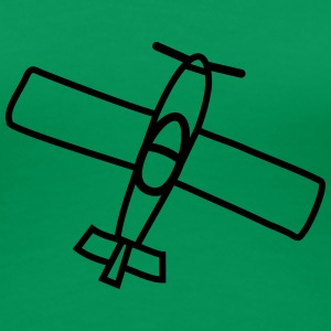 Small Airplane T-shirts - Vrouwen Premium T-shirt