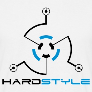 Wit Hardstyle Tech 2 T-shirts - Mannen T-shirt