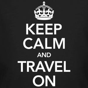 Keep Calm And Travel On T-shirts - Ekologisk T-shirt herr