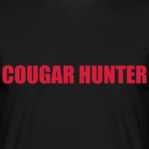 Cougar Hunter T-shirts - Herre-T-shirt