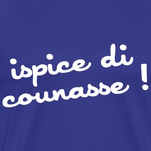 ispice di counasse ! Tee shirts - T-shirt Premium Homme