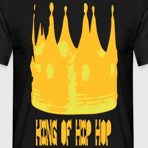 KING OF HIP HOP - Mannen T-shirt