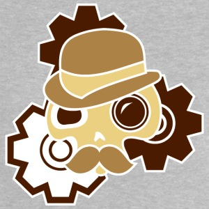 Digitalstoff-Schädel: Sir Steampunk Shirts - Baby T-shirt