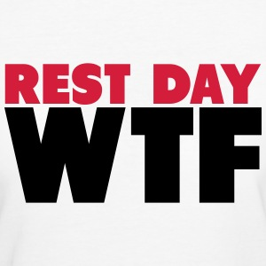 Rest Day WTF T-shirts - Organic damer