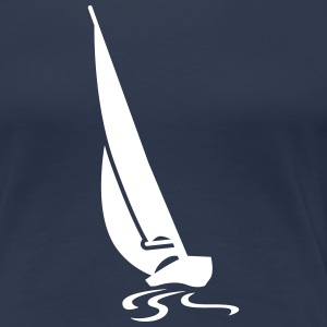 Regatta Segelboot T-Shirts - Frauen Premium T-Shirt