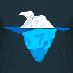 Polar Bear on Iceberg  T-Shirts