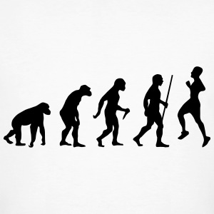 Evolution - Retro Running T-Shirts - Men's Organic T-shirt