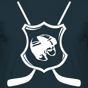 Hockey crest  T-skjorter - T-skjorte for menn