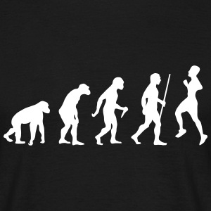 Evolution - Retro Running Tee shirts - T-shirt Homme