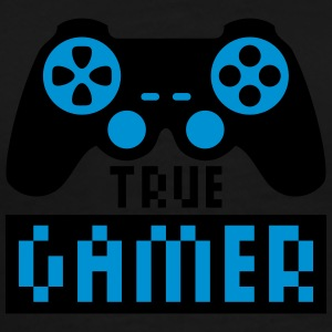 True Gamer T-shirts - Mannen Premium T-shirt