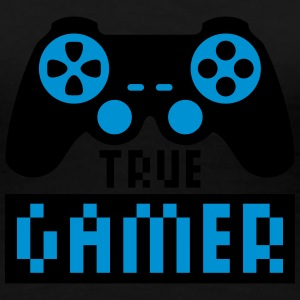 True Gamer T-shirts - Premium-T-shirt dam