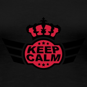 Keep Calm T-shirts - Vrouwen Premium T-shirt