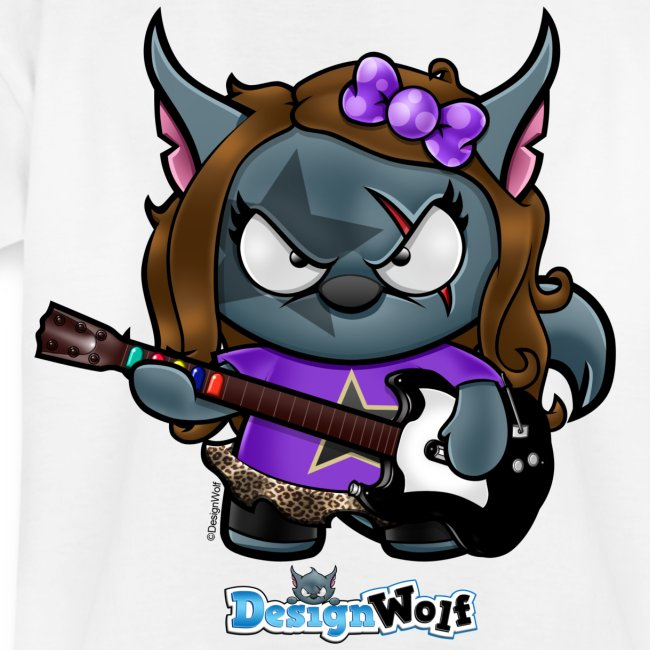 Little Rockstar Wolf