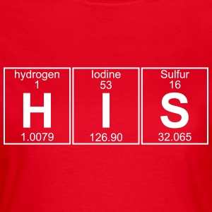 H-I-S (his) - Full T-skjorter - T-skjorte for kvinner