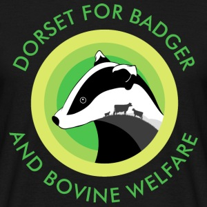 Dorset for Bagder and Bovine Welfare Logo T-Shirts - Men's T-Shirt