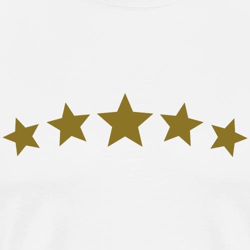 5 Sterne - DE LUXE, Gewinner, Sieger, Beste, stars