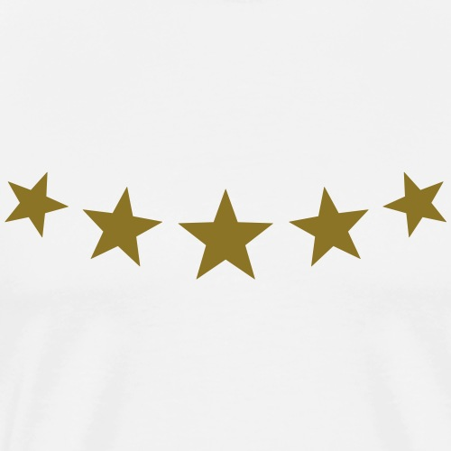 5 stars, Fünf Gold Sterne, Gewinner, Sieger, Beste
