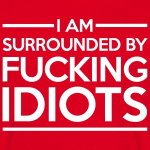 Surrounded By Idiots T-skjorter - T-skjorte for menn