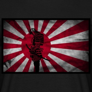Samurai Japanese flag T-Shirts - Men's T-Shirt