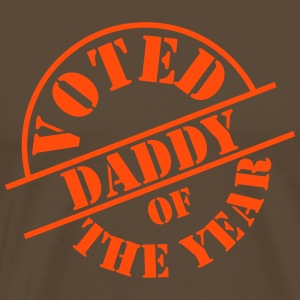 Voted Daddy of the Year ! T-shirts - Mannen Premium T-shirt