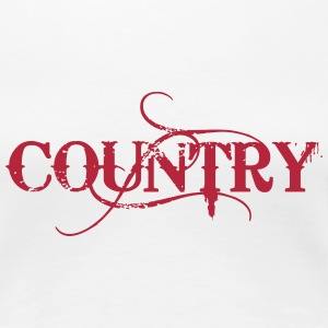 Country T-Shirts - Frauen Premium T-Shirt