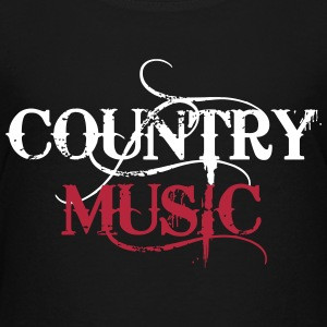 Country Music T-Shirts - Kinder Premium T-Shirt