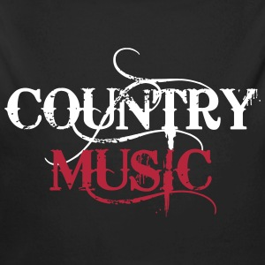 Country Music Pullover & Hoodies - Baby Bio-Langarm-Body