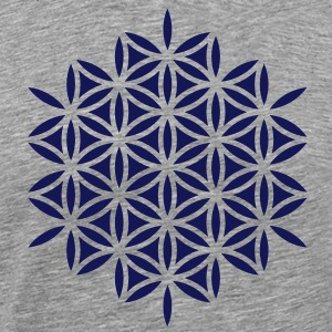 Flower of life, Sacred geometry, Yoga, meditation T-shirts - Premium-T-shirt herr