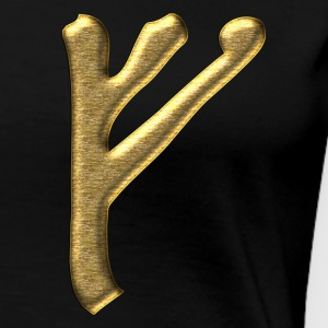 Rune Fehu - luck, prosperity & personal power T-shirts - Vrouwen Premium T-shirt
