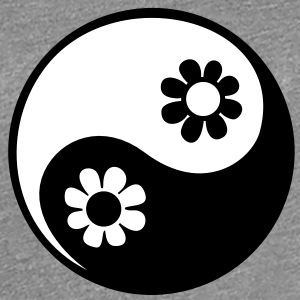 YING YANG, 2c, Taoist sign, symbol of perfect balance, ancient chinese symbol /  Camisetas - Camiseta premium mujer