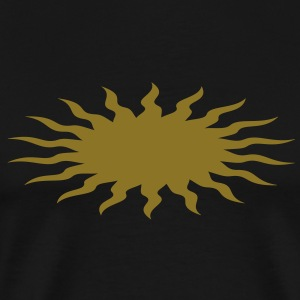 Sun, Sun symbol, vector, single color T-Shirts - Men's Premium T-Shirt
