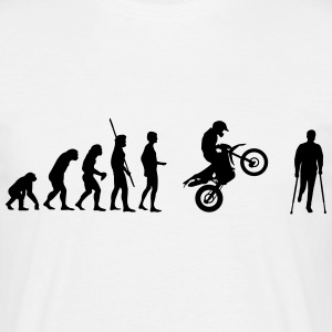 Evolution Enduro accident  T-Shirts - Men's T-Shirt