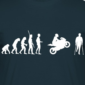 Evolution accident de moto  Tee shirts - T-shirt Homme