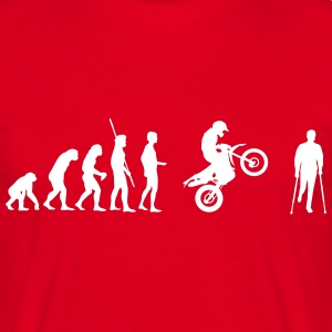 Evolution accident Enduro  Tee shirts - T-shirt Homme