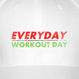 Everyday Workout Day | Washed Out Style Cappelli & Berretti - Cappello con visiera Flexfit