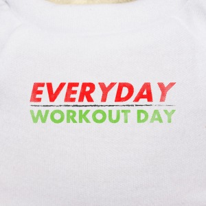 Everyday Workout Day | Washed Out Style Miś  - Miś w koszulce