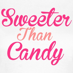 Sweeter Than Candy T-skjorter - T-skjorte for kvinner