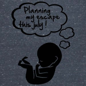 planning my escape this july T-Shirts - Frauen T-Shirt mit V-Ausschnitt