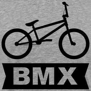 BMX Cross Bike T-shirts - Herre premium T-shirt