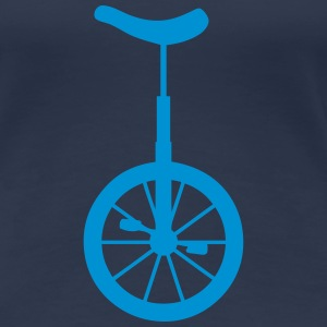 monocycle roue wheel 10062 Tee shirts - T-shirt Premium Femme