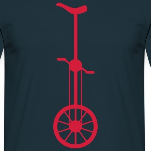 monocycle roue wheel 1006 Tee shirts - T-shirt Homme