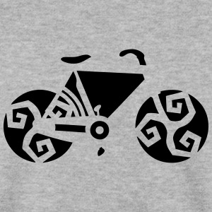 velo bicyclette breton triskel 2 Sweat-shirts - Sweat-shirt Homme