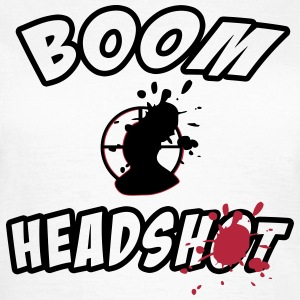Boom HeadShot T-Shirts - Women's T-Shirt