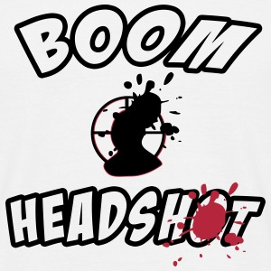 Boom HeadShot T-Shirts - Men's T-Shirt