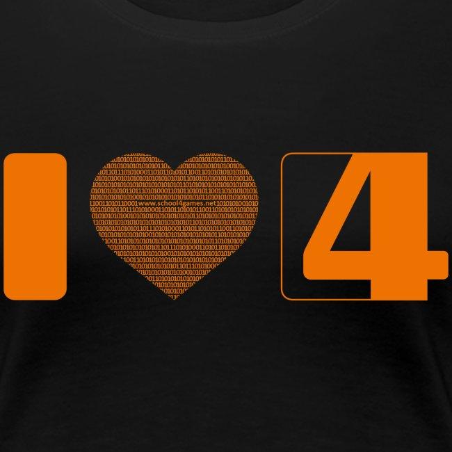 """""""I love S4G"""" T-Shirt Girl"""