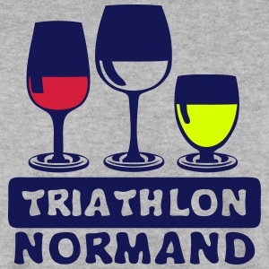 triathlon normand aclool verre apero hum Sweat-shirts - Sweat-shirt Homme
