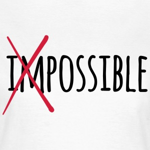 Impossible Possible 2c T-Shirts - Frauen T-Shirt