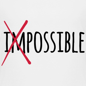 Impossible Possible 2c T-Shirts - Teenager Premium T-Shirt