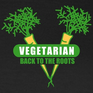 Vegetarian - back to the roots (3c) T-Shirts - Frauen T-Shirt