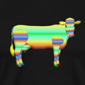 colour cow T-shirts - Mannen Premium T-shirt